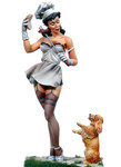 Andrea Miniatures: Pinup Series - Hamburger Lust