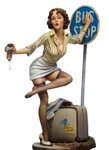 Andrea Miniatures: Pinup Series - Bus Stop