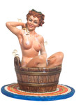 Andrea Miniatures: Pinup Series - Wanna Scrub My Back?