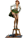 Andrea Miniatures: Pinup Series - Unwelcome Visitor
