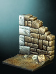 Pegaso Models - Medieval portion of wall