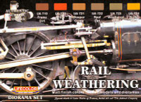 Lifecolor - Diorama Rail Weathering Acrylic Paint Set