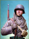 Young Miniatures - US Soldier, Ardennes 1944