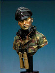 Young Miniatures - SS Panzer Officer, Normandie 1944