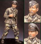 Alpine Miniatures - Waffen SS Panzer Officer, 1944-45
