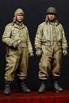 Alpine Miniatures - WW2 US AFV Crew Set