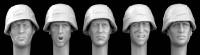 Hornet Model - Wearing German Army Style Camo Helmet covers WWII