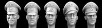 Hornet Model - German Officer wearing Schirmutze cap SS and Army