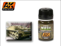 AK Interactive - Dark Yellow Wash
