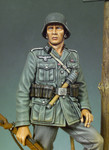 Andrea Miniatures: Classics In 90MM - German Infantryman, 1941