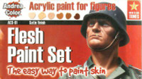 Andrea Miniatures - Flesh Paint Set
