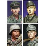 Alpine Miniatures - WWII German Soldier Heads 2