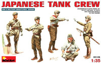 Miniart Models - WWII Japanese Tank Crew