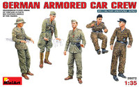 Miniart Models - German Armored Car Crew