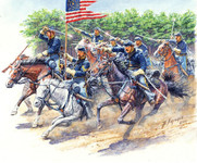 Masterbox Models - 8th Pennsylvania Cavalry, 89th Regiment