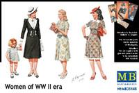 Masterbox Models - WW2 Civilian Women