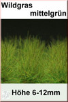 Fredericus Rex Green EXTRA LONG Wild Grass Tufts