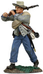 Wm. Britain: American Civil War: Confederate Infantry Advancing No.1