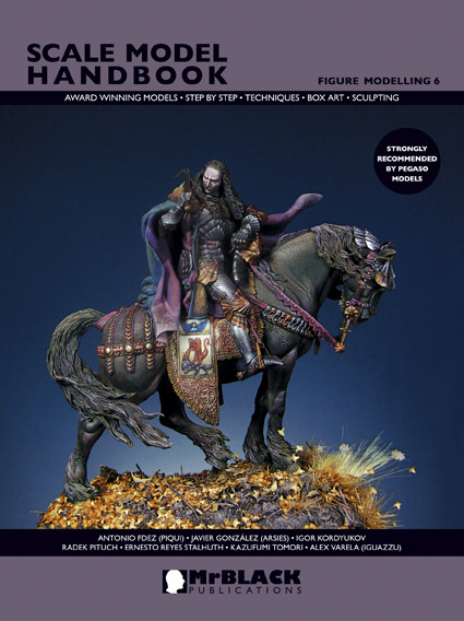Black Publications--Scale Model Handbook--Figure Modeling no.11 Mr