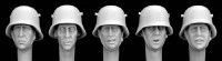 Hornet Model - German M18 Steel helmets WW1- WWII Heads