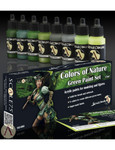 """Scale 75 - Green Paint Set """"Colors of Nature"""""""