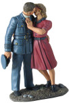 Wm. Britain - I'll Be Seeing You: RAF Pilot and Girl Kissing Goodbye