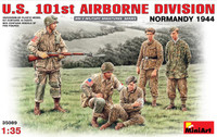 Miniart Models - US 101St Airborne Division, Normandy 1944