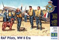 Masterbox Models - WWII RAF Pilots