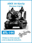 Fruilmodel German AMX 30 Family Track Set