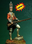 Romeo Models - English Grenadier, 18th Foot 1751