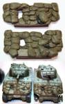 Value Gear Details M4A3 Sherman Sandbag Front #2