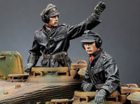 Alpine Miniatures - SS Panzer Commander Set