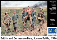 Masterbox Models - British & German Soldiers Somme Battle 1916