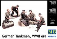 Masterbox Models - WWII German Tankmen