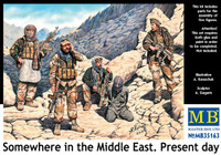 "Masterbox Models - ""Somewhere in the Middle East"", Present Day Special Ops Team w/Hostage"