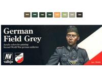Vallejo - Model Color German Field Grey Uniform Model Color Paint Set