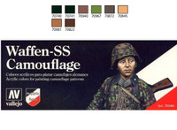 Vallejo - Model Color Waffen SS Camouflage Model Color Paint Set