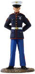 Wm. Britain - U.S. Marine in Dress Blues
