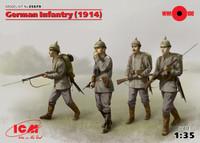 ICM Models - WWI German Infantry, 1914