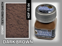 Wilder - Dark Brown Stony Textured Earth
