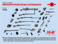 ICM Models - WWI British Infantry Weapons & Equipment