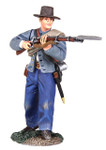 Wm. Britain: American Civil War: Confederate Infantry Defending No. 3