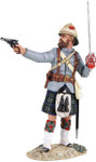 Wm. Britain - British 42nd Highlander Officer Firing Pistol