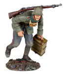 Wm. Britain - 1916-18 German Infantry Advancing with Ammo Box No. 1