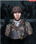 Life Miniatures - Panzergrenadier, 12th SS Panzer Division 'Hitlerjugend', Normandy 1944