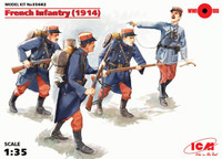 ICM Models - WWI French Infantry, 1914