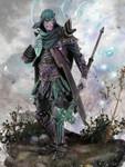 Andrea Miniatures: Warlord Saga  - Dragaloth Morben, Master of Gems