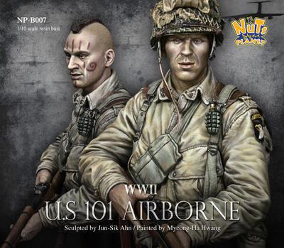 Nutsplanet - WW2 U S  Paratrooper,101st Airborne
