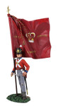 Wm. Britain - British 1st Foot Guard Battalion Company Ensign with King's Colour No. 2