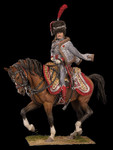 Andrea Miniatures: Classics in 90mm - Captain of Hussars, 1806